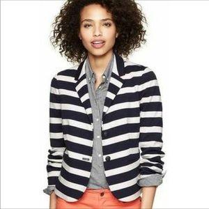 Nautical Stripe Gap Academy Blazer- Size 8